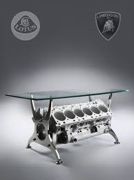 engine block table lotus lamborghini