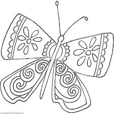 flower and butterfly coloring pages. Unique And 15 Fantasy Flower Butterfly Coloring Pages For And O