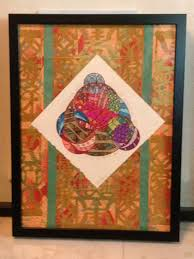 collage feng shui. Sitting Buddha Mandala Pen And Ink On Arches Water Color Paper Over Collage Made Out Of Feng Shui