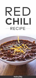If you do not include the recipe your picture will be removed until the recipe is provided. Classic Texas Red Chili Texas Red Chili Red Chili Recipes Food