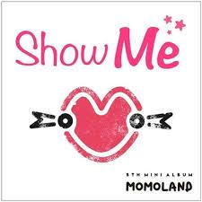 Amazon Book Pre Order Chart Momoland Momoland Show Me 5th Mini Album Cd 52p Photo