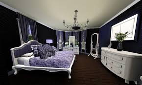 Purple Flower Wallpaper For Bedroom Bedroom Guest Looking Floral Wallpaper Art For Bedroom With
