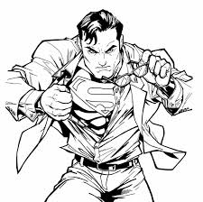 Small Picture 8 best superman coloring images on Pinterest Coloring books