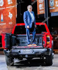 multifunction tailgate on 2019 RAM 1500 pickup Editorial Stock Photo ...