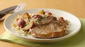 pork chops with sauer recipe