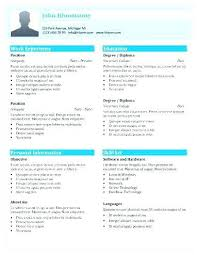 1 Page Resume New 48 Page Resume Template Colbroco