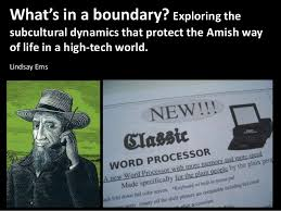 what s in a boundary exploring the subcultural dynamics that protect  exploring thesubcultural dynamics that protect the amish wayof life in a
