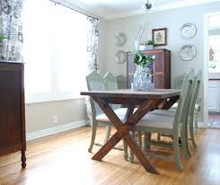 Picnic Table Dining Room Ana White Vanessa39s X Picnic Table Diy Projects