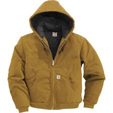 Carhartt Men's Duck Active Jacket — Quilt-Lined, Big Style, Model ... & Carhartt Men's Duck Active Jacket — Quilt-Lined, Big Style, Model# J140 Adamdwight.com