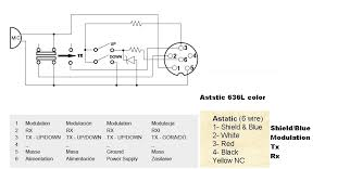 astatic 636l 4 pin wiring diagram astatic image cb mic wiring diagrams wiring diagram and hernes on astatic 636l 4 pin wiring diagram