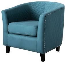 kasey harlequin pattern fabric club chair dark teal