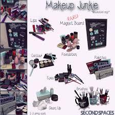 thearcadesl second es makeup junkie sims 4 contenu personnalisé sims 4 maison