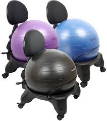 yoga ball desk chair exercise ball office chair size