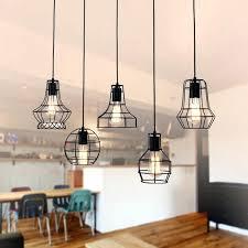 cage light chandelier new vintage ceiling light pendant lamp fixture 6 light cage chandelier cage light chandelier