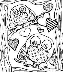 Owl Coloring Pages Owl Coloring Pages Free Printable Roomhiinfo