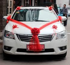 Wedding Car Decorate Popular Wedding Car Decoration Supplies Buy Cheap Wedding Car