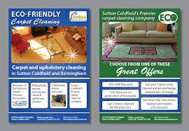 carpet cleaning flyer modern feminine it company flyer design for sutton coldfield