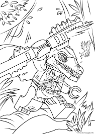 Small Picture Lego Chima Cragger Coloring Pages Printable