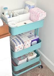 Ikea Rolling Cart For Nursery Storage