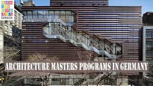 architecture university in germany english. architecture masters programs in germany university english