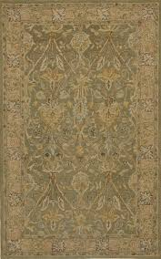 rugsville sibel persian style sage green traditional wool rug 10525 8x10