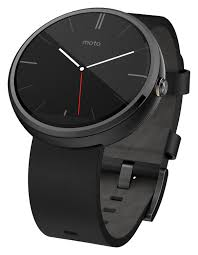 amazon com motorola moto 360 modern timepiece smart watch black amazon com motorola moto 360 modern timepiece smart watch black leather 00418nartl cell phones accessories