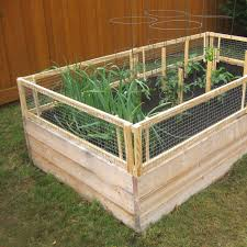 Small Picture Building Garden Beds Idea Raised Bed With Fence Beautiful Design