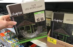 Chapter 12 Ft Led Heavy Duty String Lights Walmart Clearance Patio Rope String Lights As Low As 5