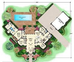 tuscan style house plans with courtyard interesting 14 courtyard home plans
