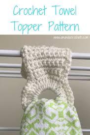 Crochet Towel Topper Pattern