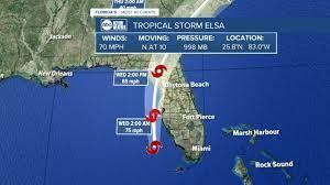 Tampa Bay as Tropical Storm Elsa nears
