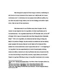 essay plan which of the following marked the start of the cold war  mao essay