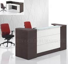 beautiful modern fice reception table design contemporary office reception furniture