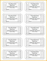 raffle ticket templates 8 per page draw design template business