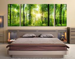 3 piece canvas wall art bedroom large canvas scenery canvas photography green multi on large canvas wall art trees with 3 piece wall decor panoramic huge canvas print sunshine multi