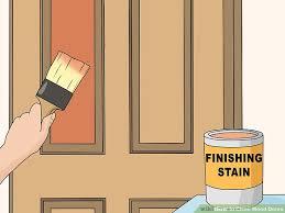 image titled clean wood doors step 9