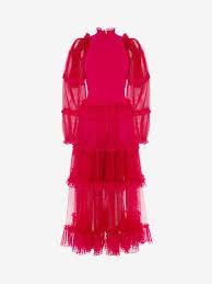 Alexander Mcqueen Dress Size Chart Alexander Mcqueen Dresses Long Midi Mini Evening Gowns