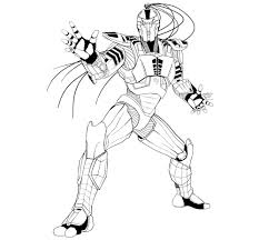 Small Picture Mortal kombat coloring pages cyrax ColoringStar