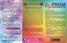 Ehrlich Test Kit Chart Ehrlich Marquis Test Kit Prism Reagents
