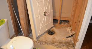 why not just install a new fiberglass tub or shower