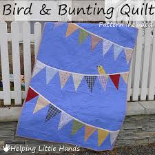 Pieces by Polly: Bird and Bunting Quilt - With Pattern & Tips & Bird and Bunting Quilt - With Pattern & Tips Adamdwight.com