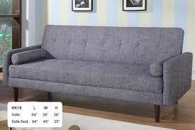 Grey Sofa Chair Ah18 Gray Sofa Bed Kk18 At Home Usa Sleepers Sofa Beds At Comfyco