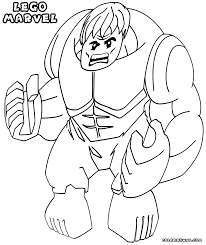 Lego Marvel Coloring Pages Coloring Page Lego Lego Marvel Super ...
