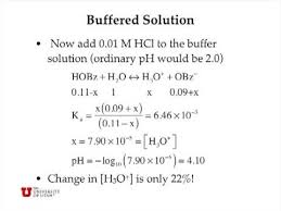 Buffer Solutions Youtube