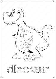 Best paint markers for coloring and drawing with water brush. Printable Dinosaur Coloring Page Book Pdf