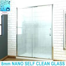hard water stain remover shower door amazing how to clean