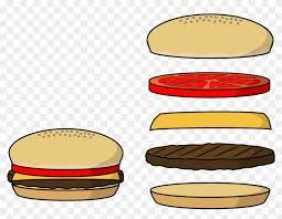 hamburger patty clipart. Exellent Patty Advertisement  Burger Patty Clipart Intended Hamburger E