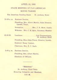 discussion topics for state meeting on april 15 1936 in san antonio