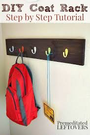 Diy Kids Coat Rack Inspiration Wood Making Diy Coat Rack Wall Pinterest Diy Coat Rack Coat