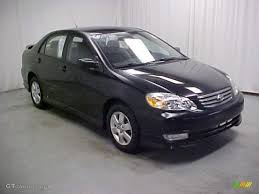 2004 Black Toyota Corolla S #42188326 | GTCarLot.com - Car Color ...